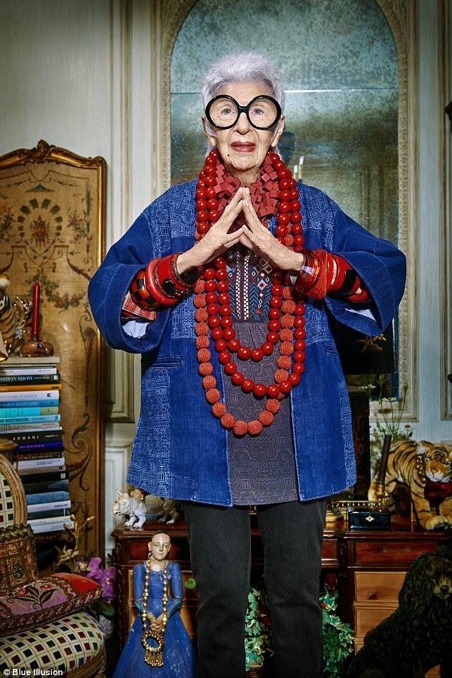 """94-річна """"ікона стилю"""" стала обличчям відомого бренду  - фото 2"""