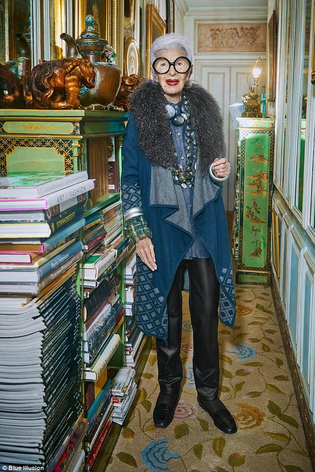 """94-річна """"ікона стилю"""" стала обличчям відомого бренду  - фото 1"""
