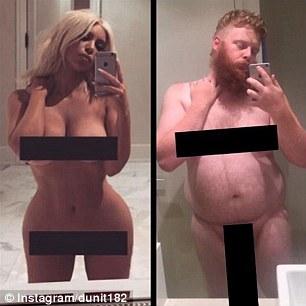 """У мережі жорстоко потролили """"голе"""" селфі Кардашіан - фото 10"""