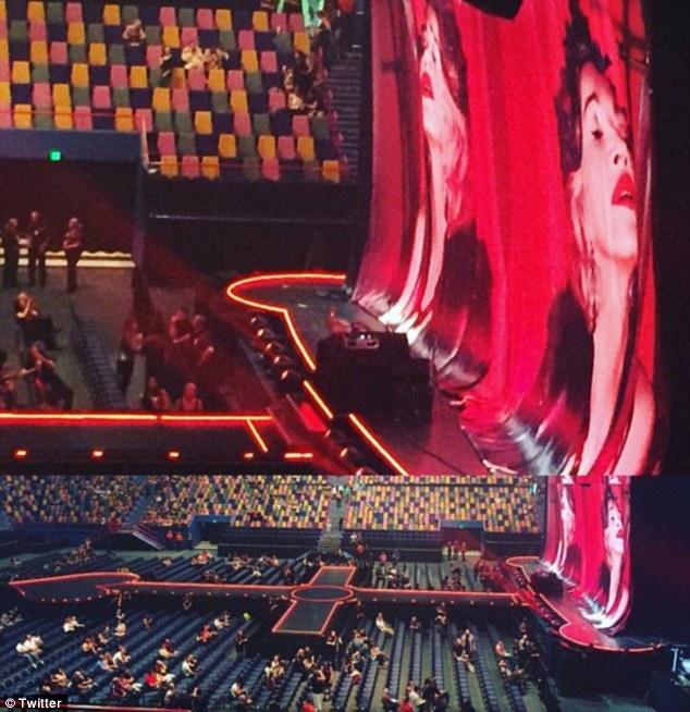 Як Мадонна після конфузу у Мельбурні виступала на напівпорожньому стадіоні - фото 1