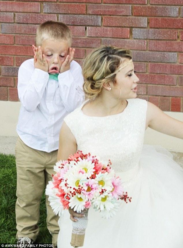 Найжахливіші весільні фотографії у світі - фото 7