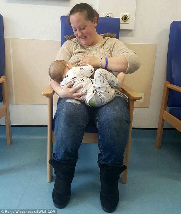 Як модель, яка потрапила до лікарні, знайшла 5 незнайомок для годування її сина грудьми (ФОТО 18+) - фото 1