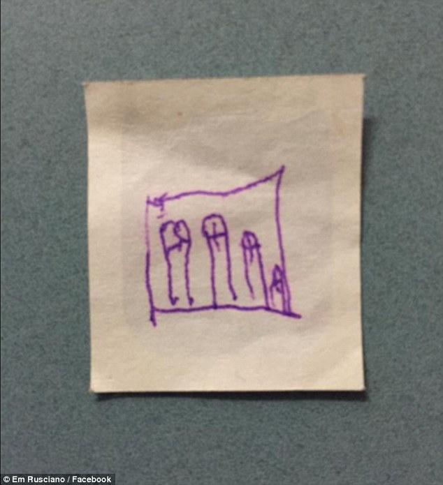 Як діти малюють та ліплять чоловічі геніталії  - фото 10