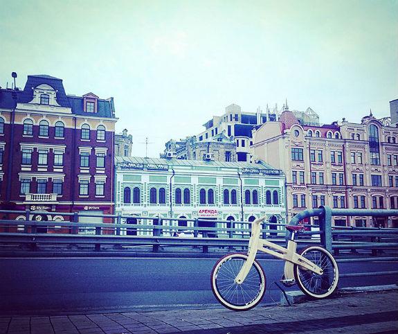 Киянин майструє унікальні дерев'яні велосипеди за $1,2 тисячі  - фото 9