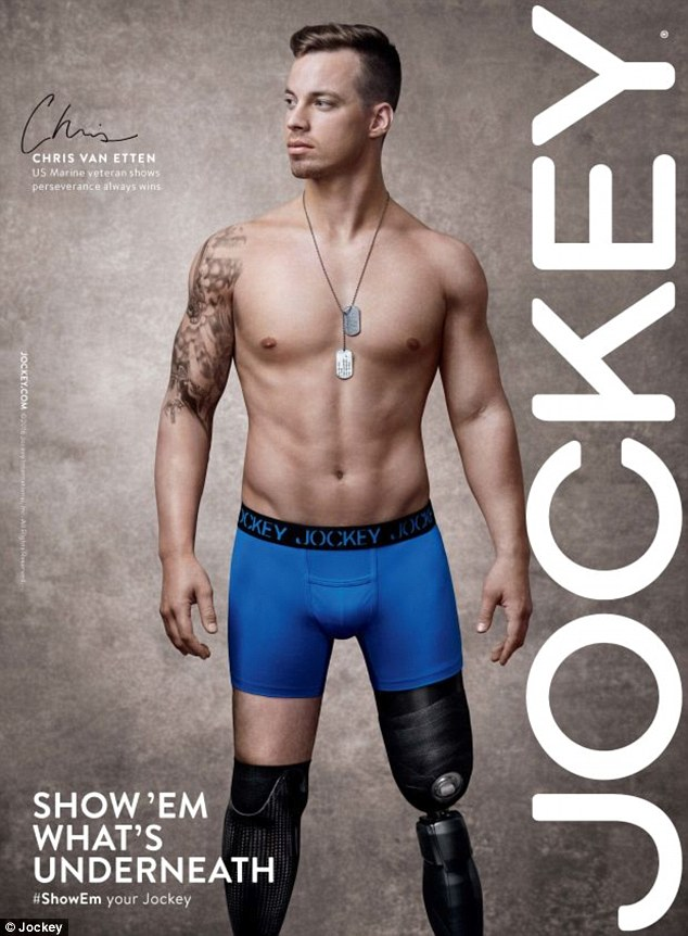 Голий 25-річний чоловік з ампутованими кінцівками став зіркою реклами - фото 2