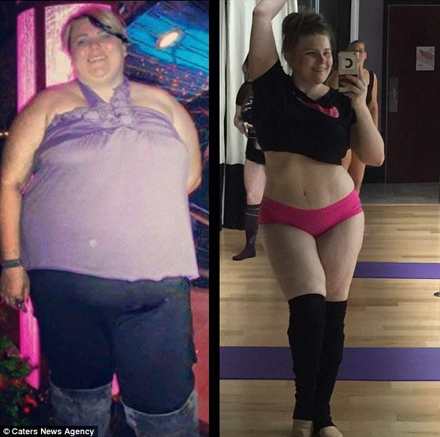 Жінка, яка застрягла на гірці в аквапарку, схудла на 70 кг завдяки стриптизу - фото 6