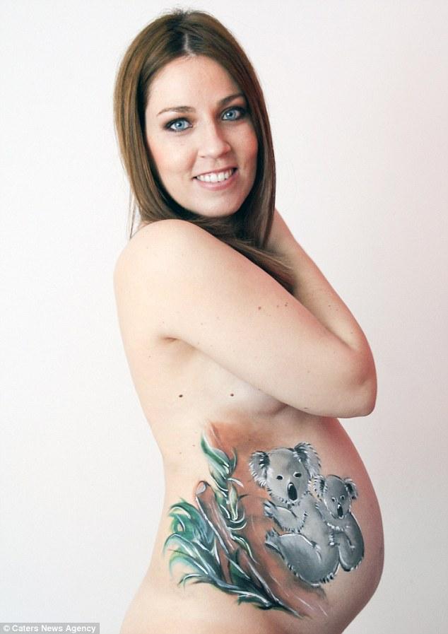 Новий тренд: вагітні шаленіють від малюнків на своєму животі - фото 3