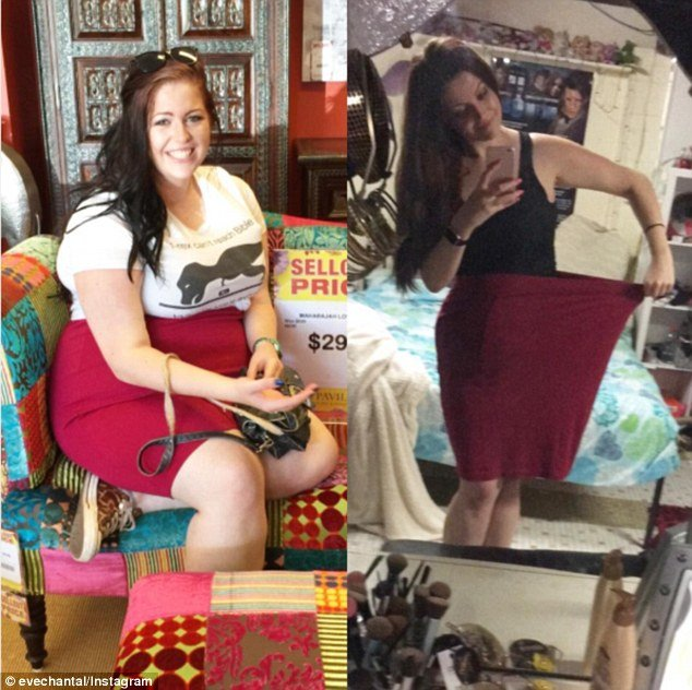 Як дівчина схудла на 50 кг та 10 розмірів завдяки гаджету  - фото 3