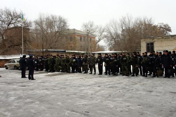 """Всю поліцію Донеччини підняли по """"тривозі"""" - фото 6"""