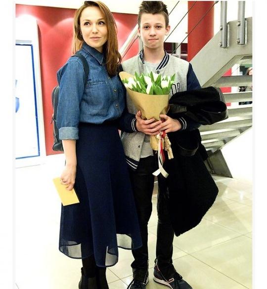 Джанабаєва показала старшого сина від Меладзе - фото 1