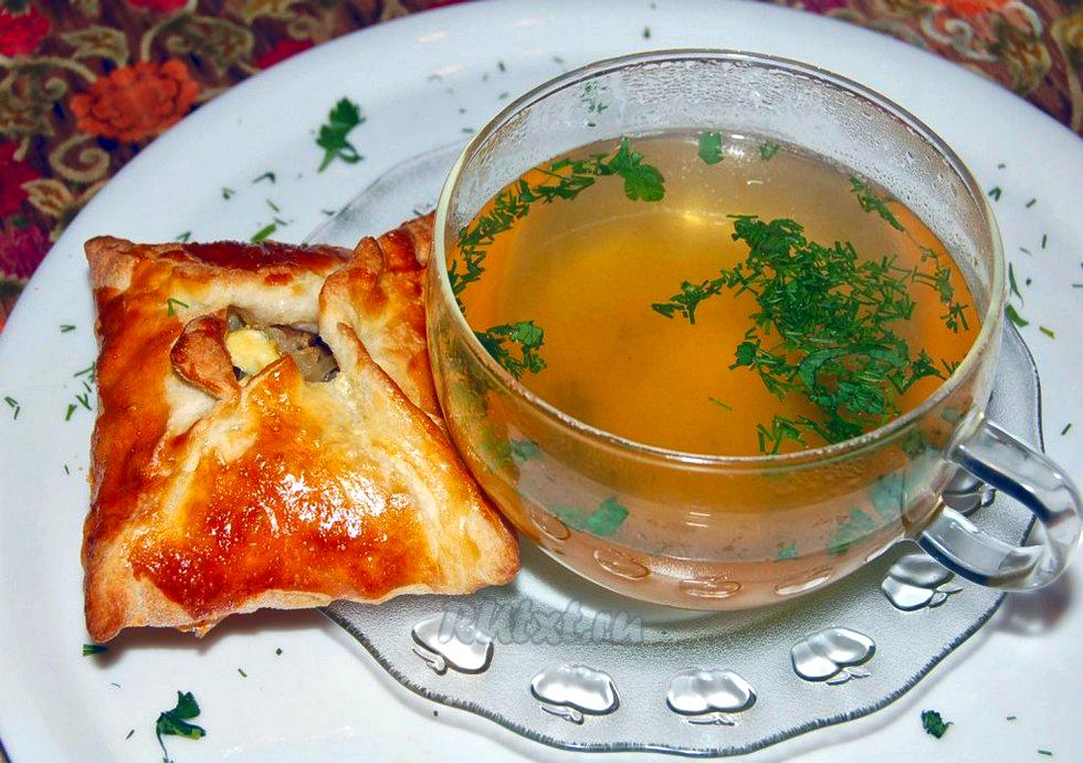 Мясной бульон рецепт фото