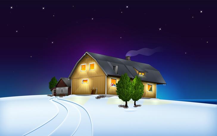 """Топ-20 несподіваних різдвяних """"шпалер"""" для робочого столу - фото 16"""