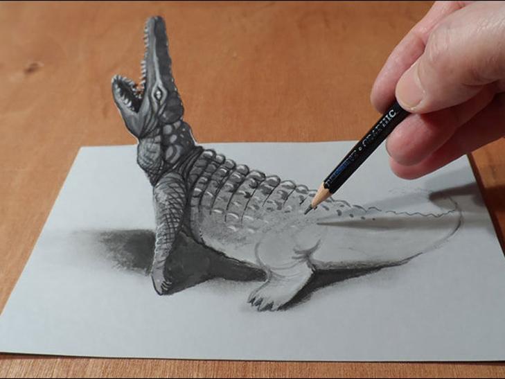 35 неймовірних 3D-малюнків олівцем - фото 1