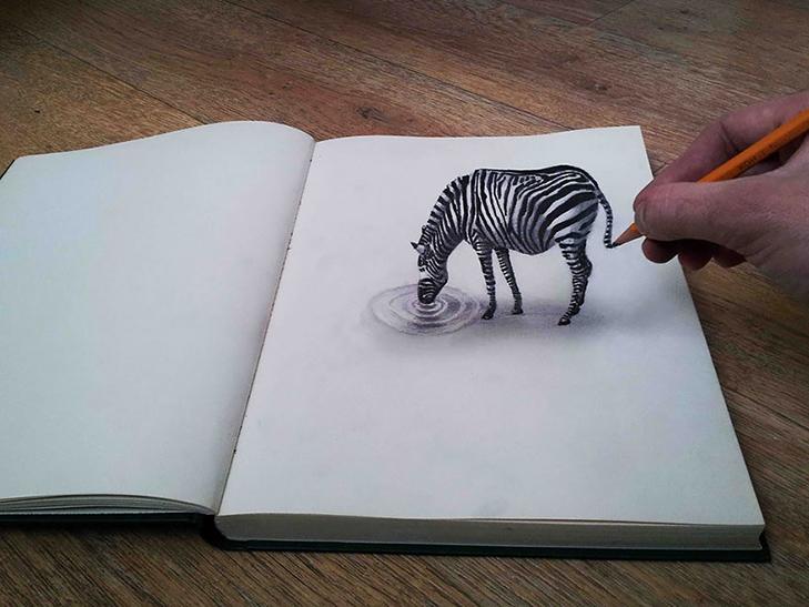 35 неймовірних 3D-малюнків олівцем - фото 9