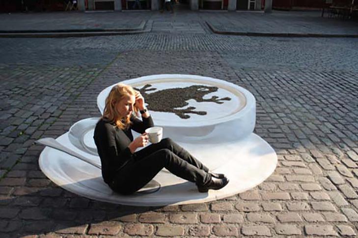 40 неймовірних 3D малюнків на асфальті - фото 36