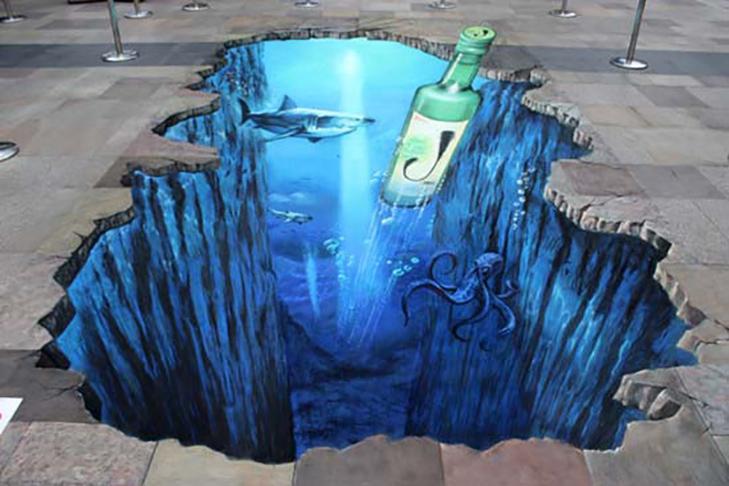 40 неймовірних 3D малюнків на асфальті - фото 29