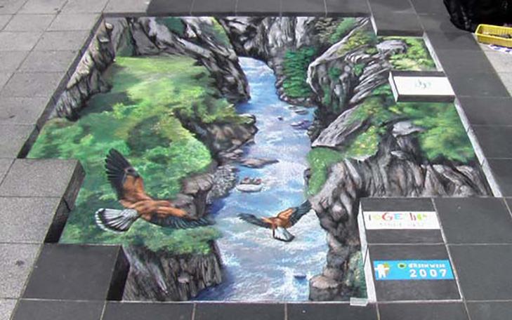 40 неймовірних 3D малюнків на асфальті - фото 31