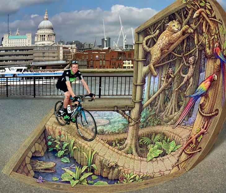 40 неймовірних 3D малюнків на асфальті - фото 28