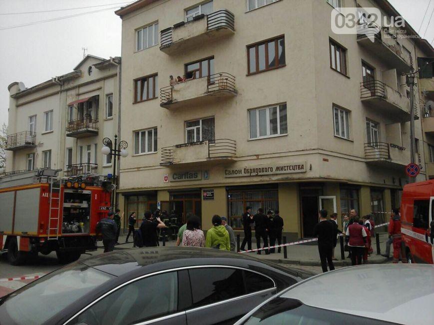 В центрі Івано-Франківська прогримів вибух - фото 1