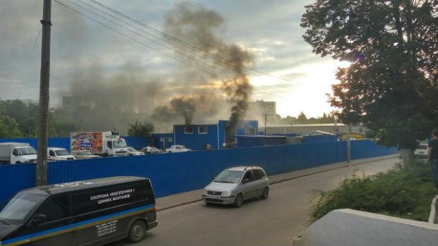 В Харькове случился взрыв