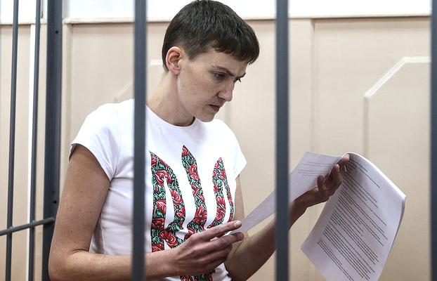 Як Надя Савченко пухне від голоду - фото 7