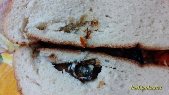 На Миколаївщині чоловік знайшов металеву набійку у хлібі