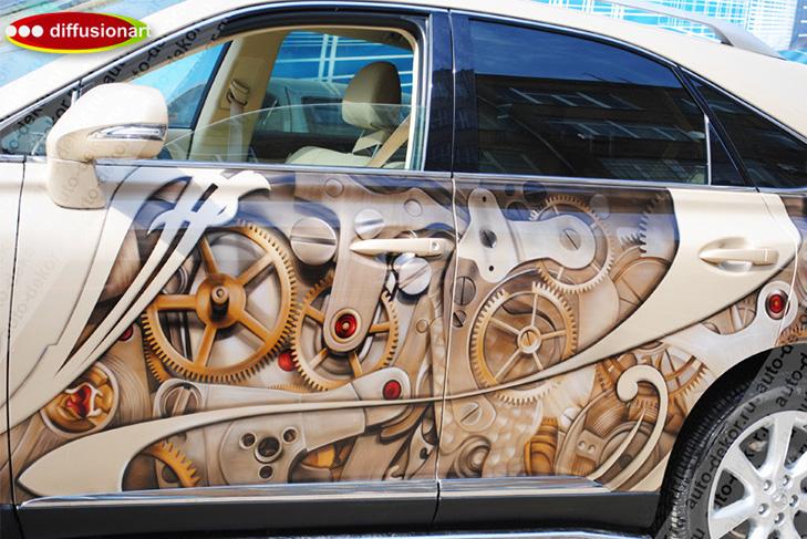 Креатив на колесах: 45 прикладів цікавої аерографіки - фото 34