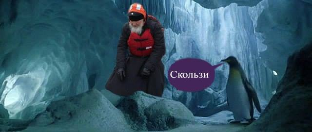 Як Гундяєв пінгвінів в Антарктиді хрестив (ФОТОЖАБИ) - фото 15