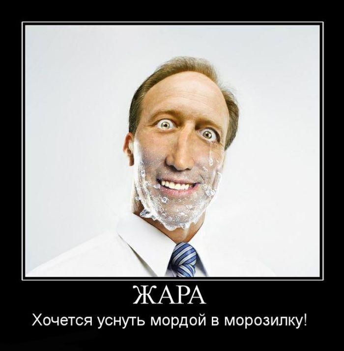 Закрийте двері до пекла: як українці реагують на спеку (ФОТОЖАБИ) (18+) - фото 7