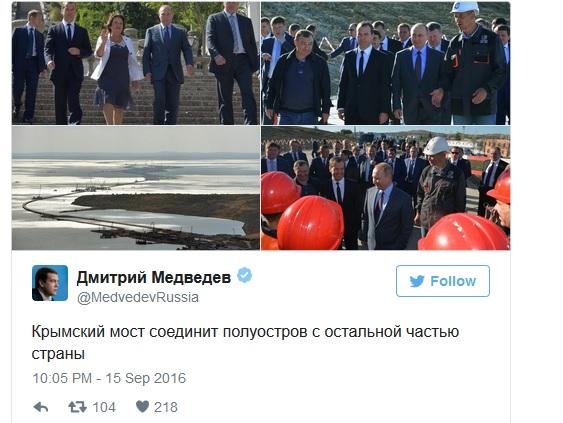 """Медведєв втратив віру у """"Кримнаш"""" - фото 2"""