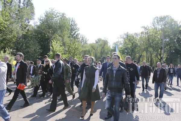 На Донбасі Королевську закидали яйцями та облили зеленкою  - фото 3