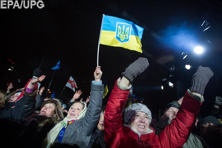 Хроніка Революції Гідності: Новий рік на Майдані і день народження Степана Бандери - фото 3