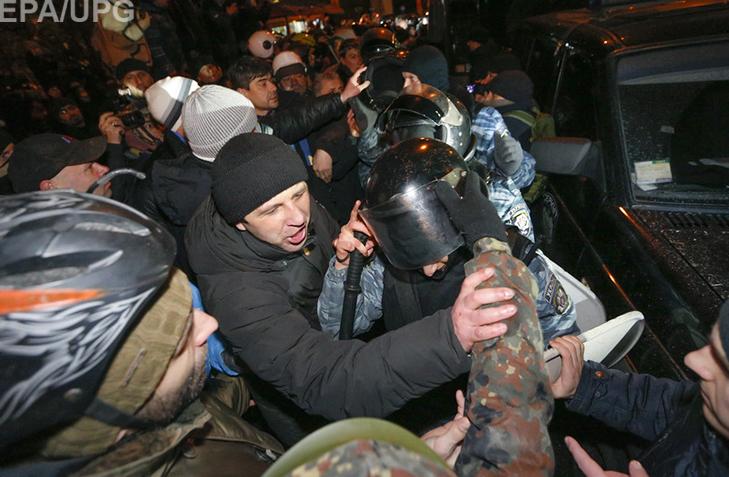"""Хроніка Революції Гідності: Перша значна поразка """"Беркута"""" - фото 4"""