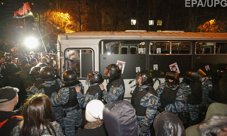"""Хроніка Революції Гідності: Перша значна поразка """"Беркута"""" - фото 5"""
