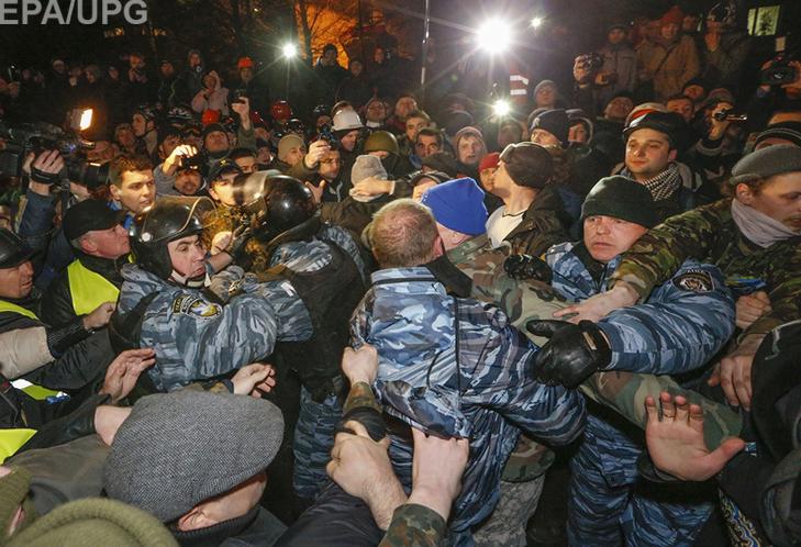 """Хроніка Революції Гідності: Перша значна поразка """"Беркута"""" - фото 3"""