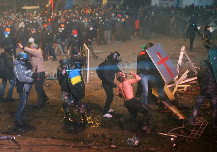 Хроніка Революції Гідності: Вогонь на Грушевського і початок нової стадії протистояння - фото 8