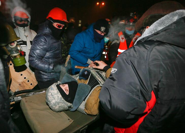 Хроніка Революції Гідності: Вогонь на Грушевського і початок нової стадії протистояння - фото 12