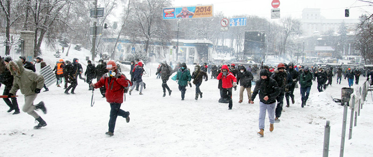 Хроніки Революції Гідності: Кривавий День Соборності і перші загиблі на Грушевського - фото 5