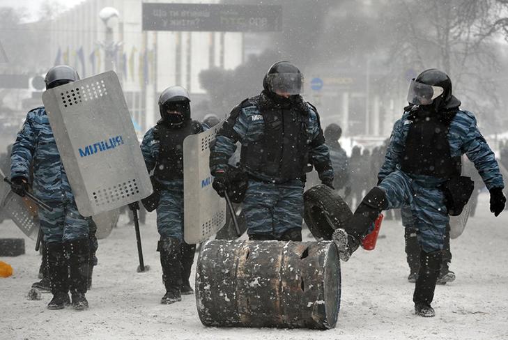 Хроніки Революції Гідності: Кривавий День Соборності і перші загиблі на Грушевського - фото 6