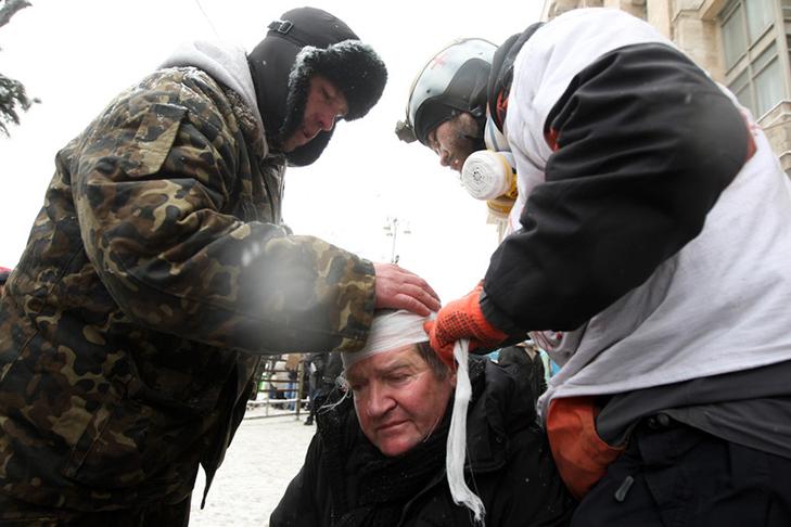 Хроніки Революції Гідності: Кривавий День Соборності і перші загиблі на Грушевського - фото 10