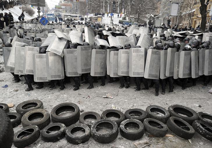 Хроніки Революції Гідності: Кривавий День Соборності і перші загиблі на Грушевського - фото 2