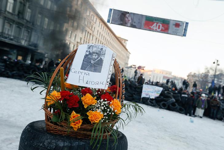 Хроніки Революції Гідності: Кривавий День Соборності і перші загиблі на Грушевського - фото 22
