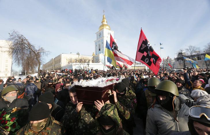 Хроніки Революції Гідності: Кривавий День Соборності і перші загиблі на Грушевського - фото 19