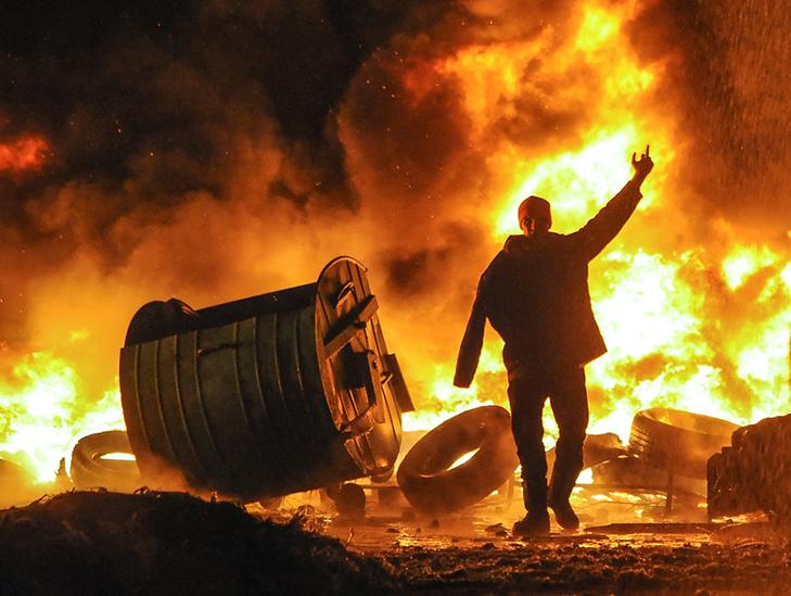 Хроніки Революції Гідності: Кривавий День Соборності і перші загиблі на Грушевського - фото 17