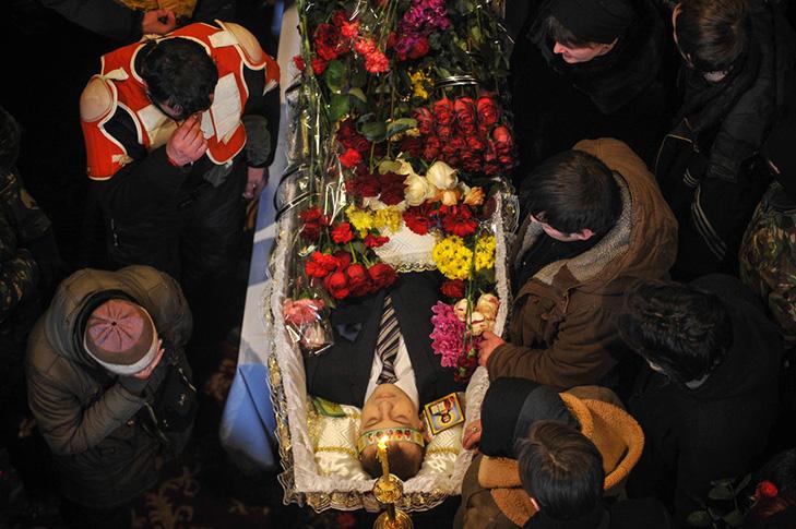 Хроніки Революції Гідності: Кривавий День Соборності і перші загиблі на Грушевського - фото 21