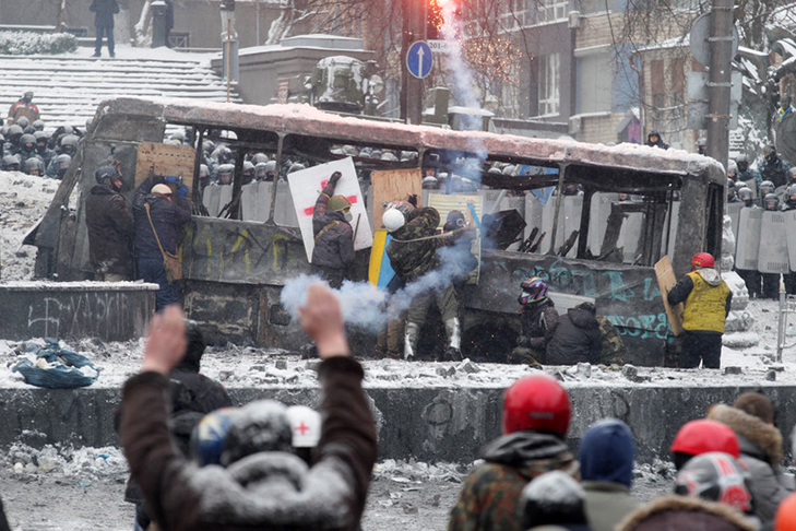 Хроніки Революції Гідності: Кривавий День Соборності і перші загиблі на Грушевського - фото 12