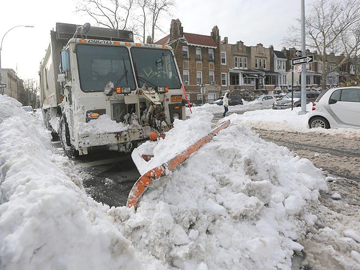 Як у Саакашвілі звалили сніг в Одесі на Вашингтон - фото 2
