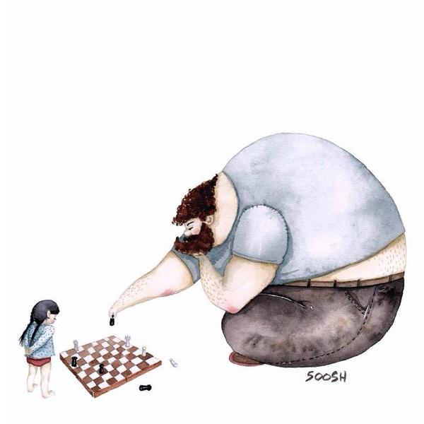 Миколаївська художниця викликала в світі фурор ніжними ілюстраціями батьківської любові - фото 9