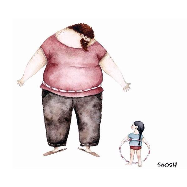 Миколаївська художниця викликала в світі фурор ніжними ілюстраціями батьківської любові - фото 13