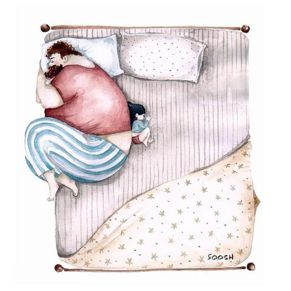 Миколаївська художниця викликала в світі фурор ніжними ілюстраціями батьківської любові - фото 5